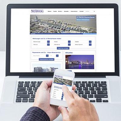 STÄWOG responsive Website