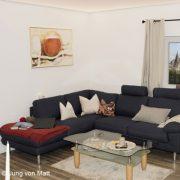 Durchschnittsdeutsche Wohnzimmer