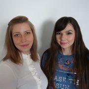 Michelle Saarberg und Maria Dabiza