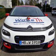 WoGe Bremerhaven Fahrzeugbeklebung