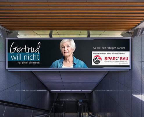 Wohnungsgenossenschaft Spar und Bau Wilhelmshaven Banner