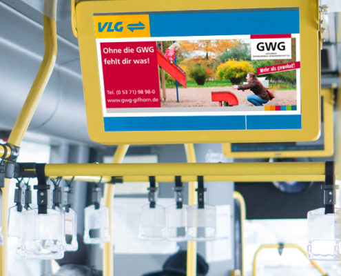 GWG Gifhorn Buswerbung