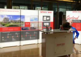 Spar + Bau: neue Messestellwandsystem