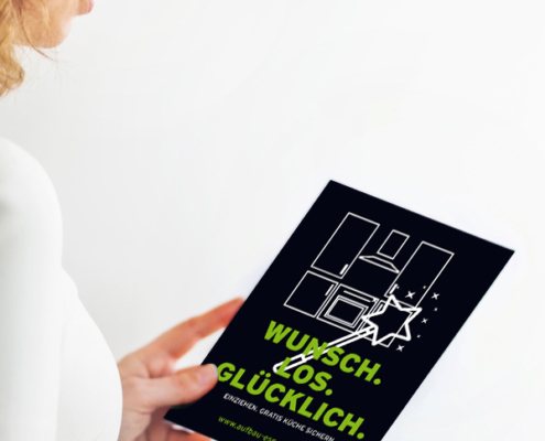 Aufbaugemeinschaft Espelkamp: Flyer für Bonusprogramm