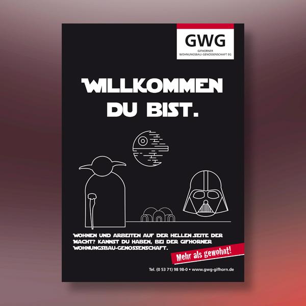 GWG Gifhorn: Anzeige Abibuch von s+f