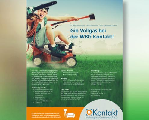 WBG Kontakt: Anzeige Ausbildungsatlas von s+f