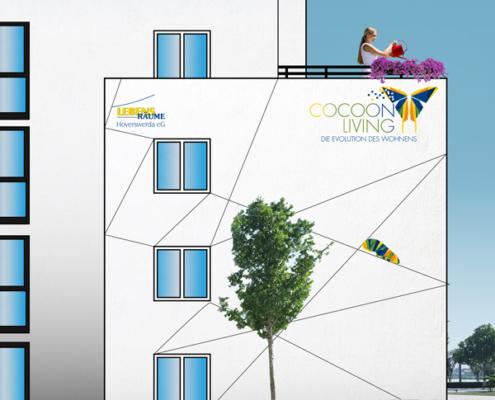 CocoonLiving der LRH - mögliche Ansicht Hausfassade