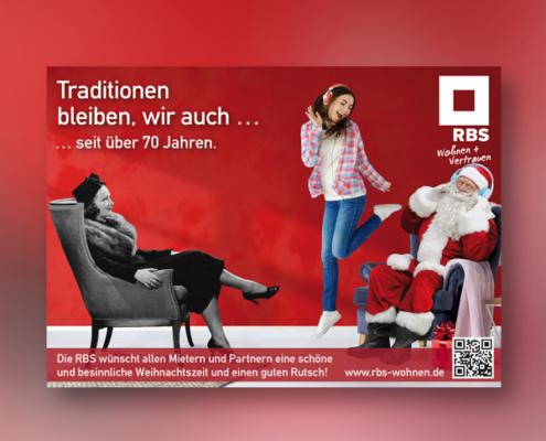 RBS-Weihnachtskarte von stolp+friends