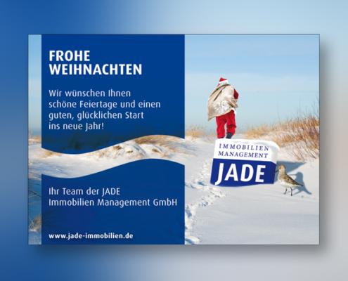 JADE-Weihnachtskarte von stolp+friends