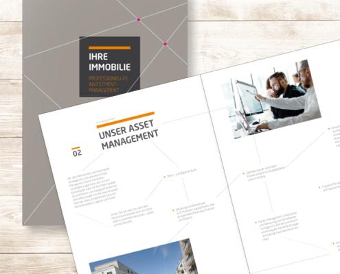 Imagebroschüre der Wohnbau Service Bonn für professionelle Investoren