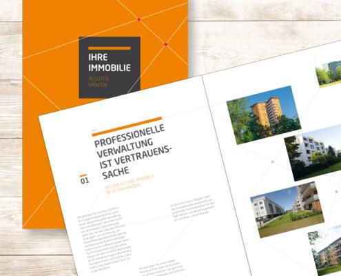 Wohnbau Service Bonn: Imagebroschüre für private Wohneigentümer