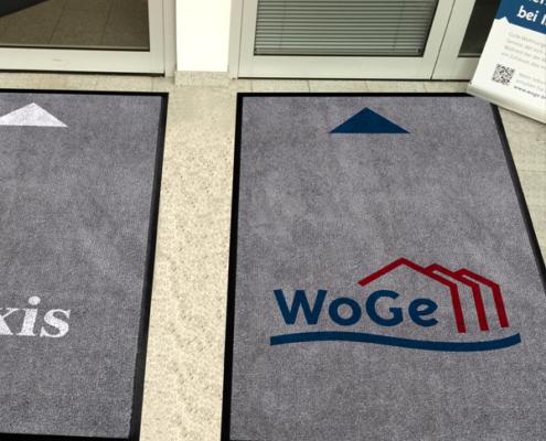 WoGe-Geschäftsstelle: Fußmatte