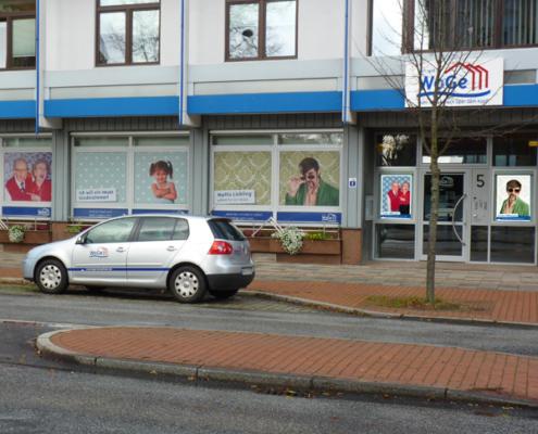 WoGe-Geschäftsstelle: Fenstergestaltung