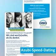 Anzeige der GSG Neuwied zum Azubi-Speed-Dating