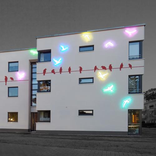 Aufbaugemeinschaft Espelkamp, Farbkonzept: Lichtpark
