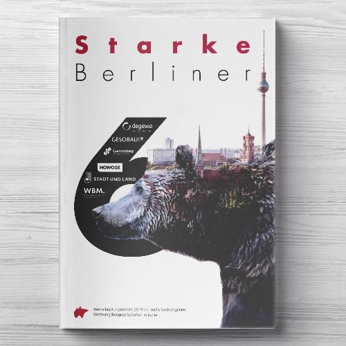 Gesobau, Wertschöpfungsbericht Cover