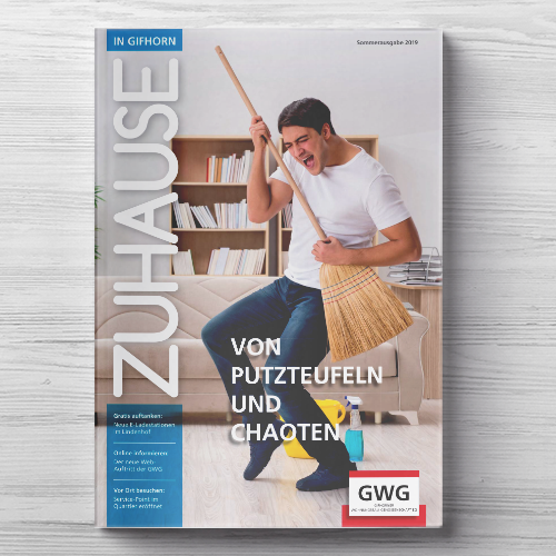 GWG Gifhorn, Mietermagazin Cover