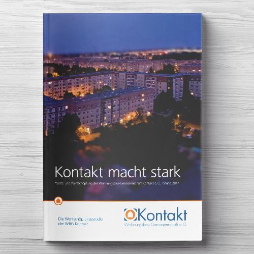 WBG Kontakt, Wertschöpfungsbericht Cover