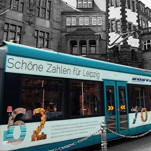 WBG Kontakt, Außenwerbung S-Bahn
