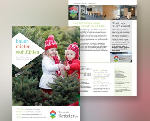 Mietermagazin des Bauvereins Ketteler, Ansicht