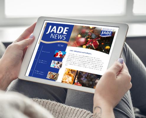 Mitarbeiter-Newsletter der JADE