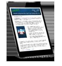 iPad mit Newsletter