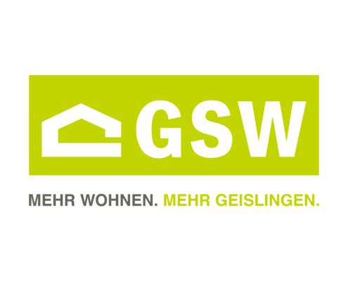 Logo und Claim der GSW