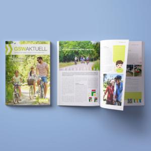 Mietermagazin der Geislinger Siedlungs- und Wohnungsbau GmbH