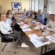 """stolp+friends mit den """"WeitBlicker"""" am Tisch"""