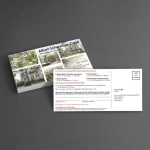Befragung auf Postkarte