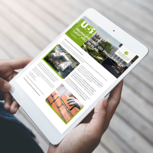 Newsletter direkt aufs Tablet
