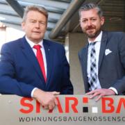 Dieter Wohler und Peter Krupinski von der SPAR + BAU