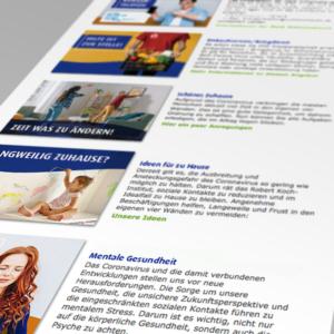 JADE: Website-Beiträge