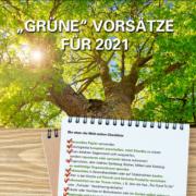 Grüne Vorsätze für 2021