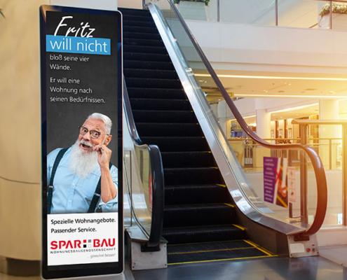 """""""Fritz"""" ist eines der neuen Imagemotive der SPAR + BAU Wilhelmshaven"""