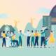 Nachhaltig wohnen und leben: wichtigste Aufgabe der Wohnungswirtschaft