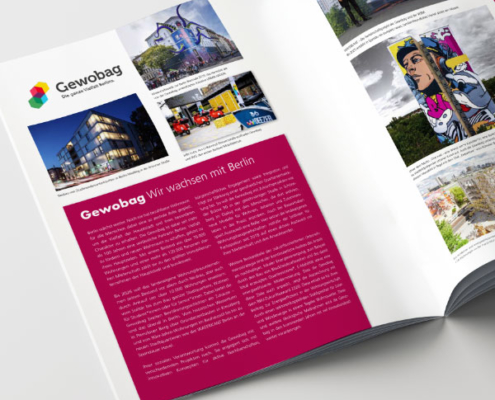 Die Imageseiten der Berliner Wohnungsbauunternehmen im Wertschöpfungsbericht