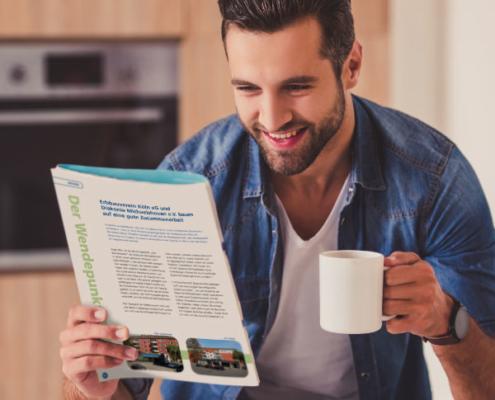 Die Mitgliederzeitschrift der Erbbauverein Köln eG enthält interessante Themen