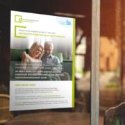 Plakat zum virtuellen Nachbarschaftstreff