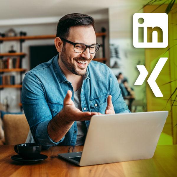 LinkedIn und XING stärken die Mieterbindung