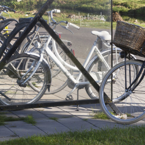 stolp+friends erhält neuen Fahrradstellplatz