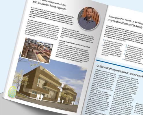Mietermagazin-Artikel über nachhaltiges Bauprojekt