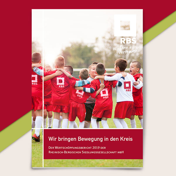 Cover des Wertschöpfungsberichts der RBS
