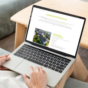 Eine suchmaschinenoptimierte Website der GSW Geislingen